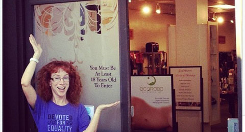 Kathy Griffin at Good Vibrations (feature)
