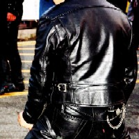 leather man