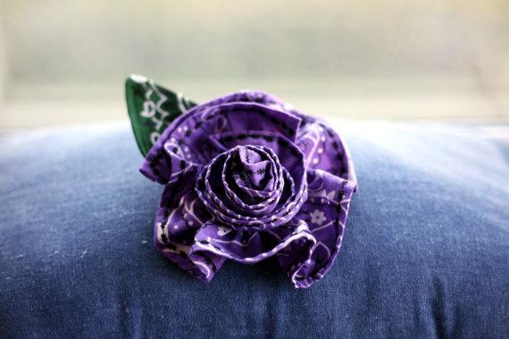 hanky flower
