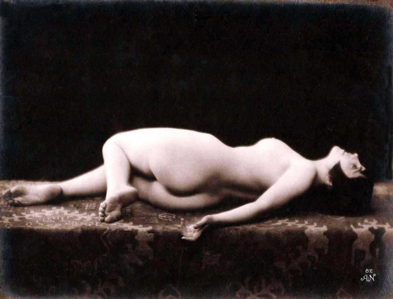 lying back