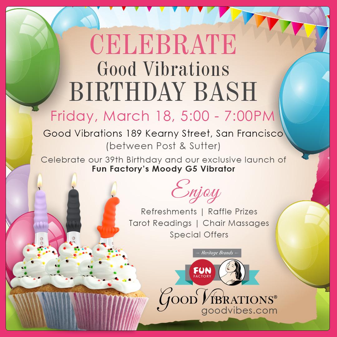 Good Vibrations Birthday Bash