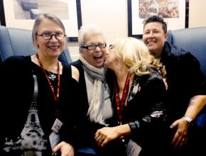 Carol Queen, Betty Dodson, Shar Rednour, Jackie Strano