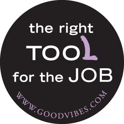 Right Tool for the Job button