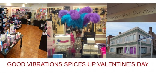 Good Vibrations Spices Up Valentine's Day