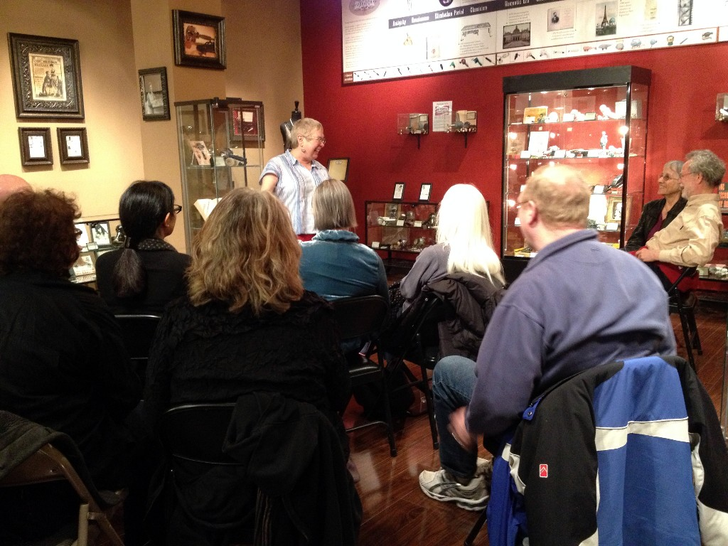 Rachel Maines Captivates the Crowd at the Antique Vibrator Museum
