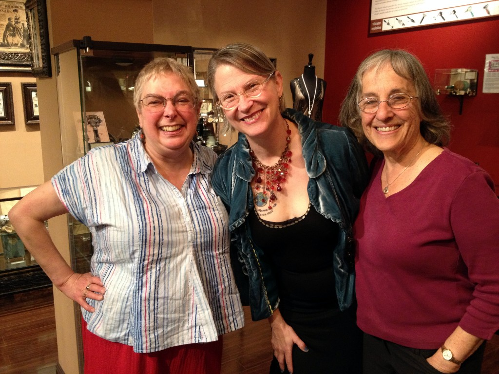 Rachel Maines, Dr. Carol Queen and Joani Blank
