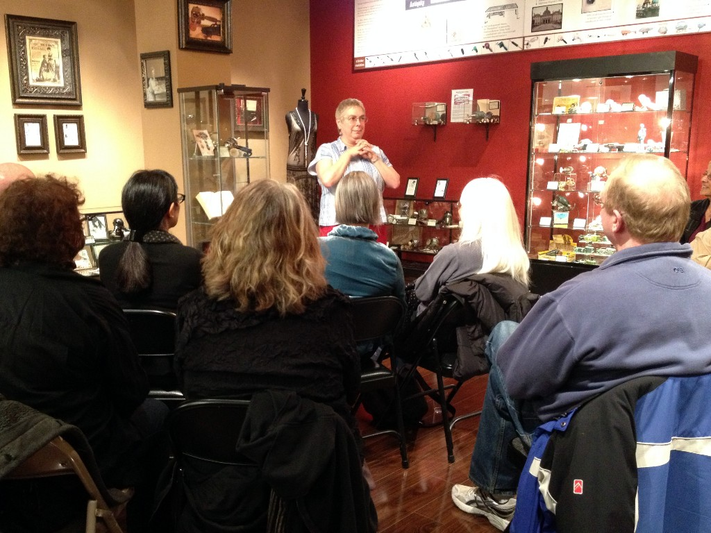 Rachel Maines Speaks at the Antique Vibrator Museum